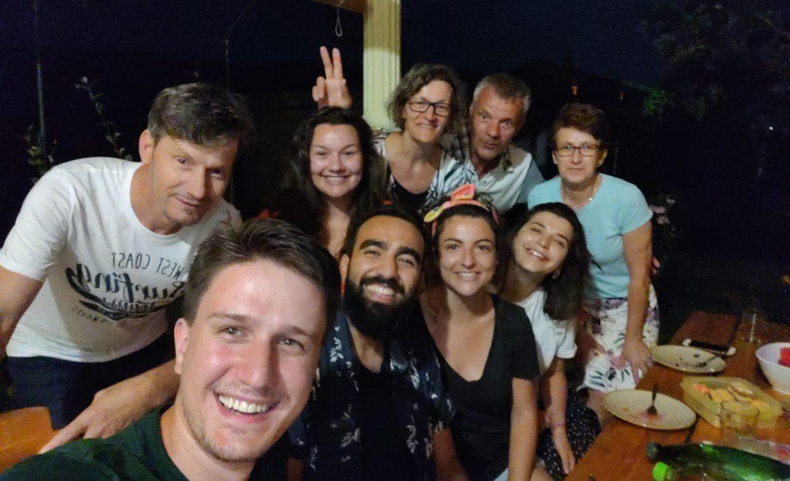 IFT4 avec la famille d'Ivanka et Mirko