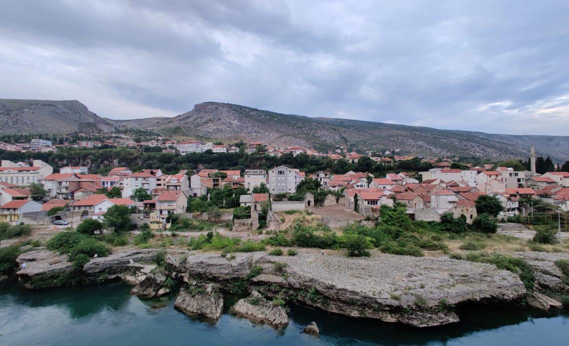 Vue de Mostar