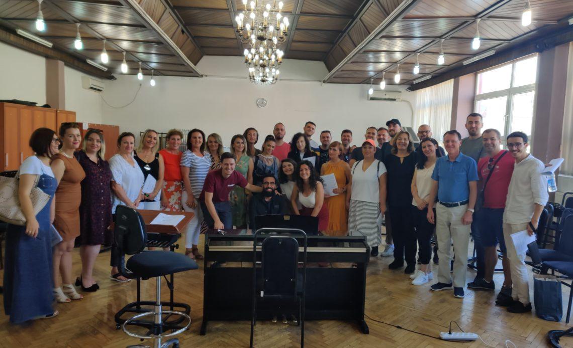 IFT4 avec le Kosovo philarmonic