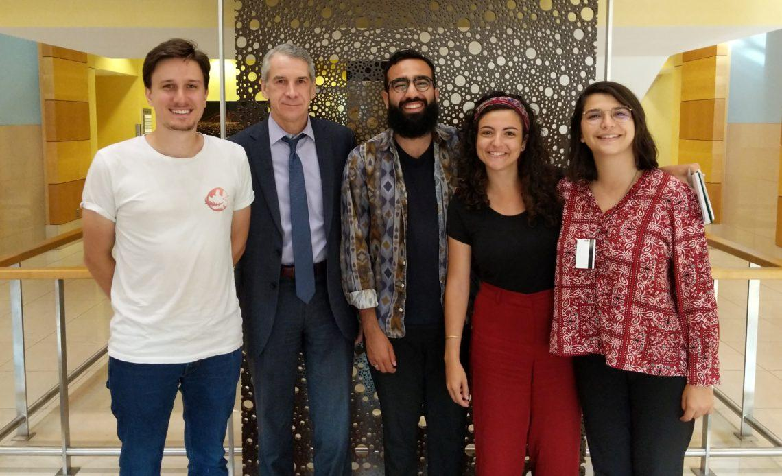 IFT4 et le Consul Général des Etats-Unis à Dubai